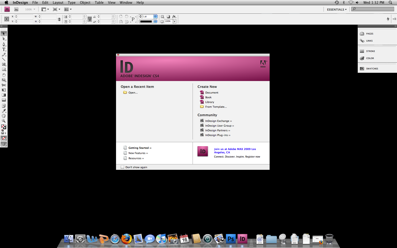 About Adobe InDesign