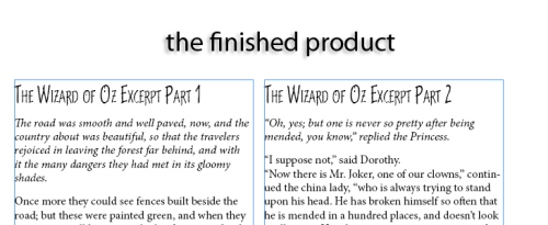 Using Character and Paragraph Styles in InDesign CS5