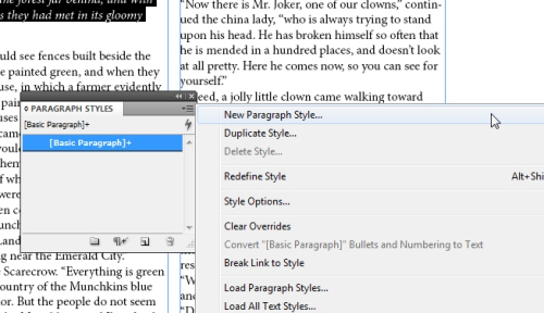 7 - Using Character and Paragraph Styles in InDesign CS5