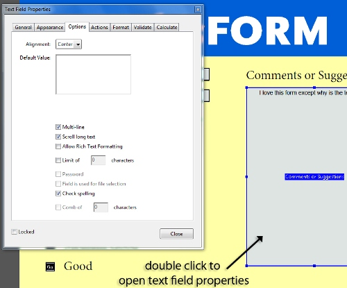 8 - Creating an Interactive PDF form with InDesign CS5 and