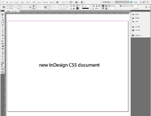 1 - Placing Images in Your InDesign CS5 Document