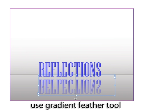 6 - Creating a Text Reflection in InDesign CS5