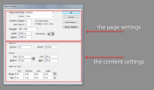 All About Creating a New InDesign CS5 Document