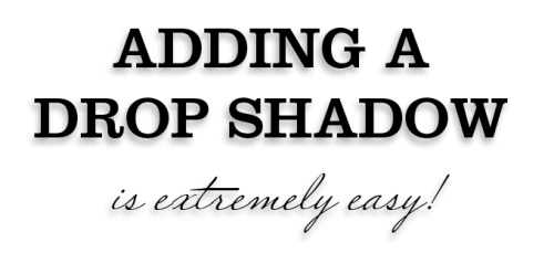10 - Adding Drop Shadows to Your InDesign Documents