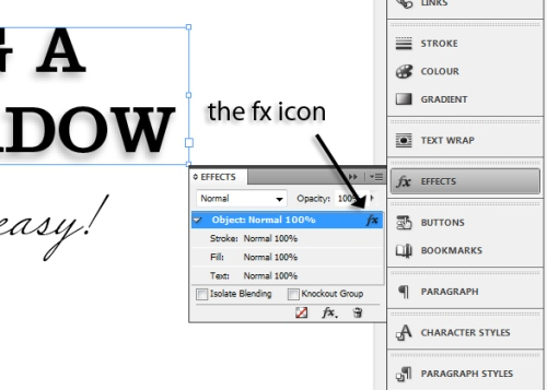 8 - Adding Drop Shadows to Your InDesign Documents