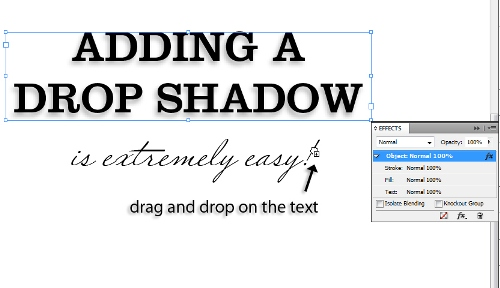 9 - Adding Drop Shadows to Your InDesign Documents
