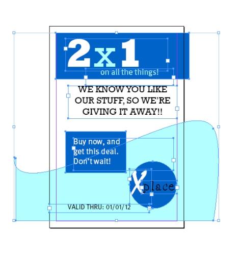 making a coupon layout indesigntutorials