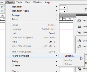 3 - Anchoring Objects to Text in InDesign CS5