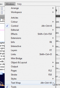 4 - Anchoring Objects to Text in InDesign CS5