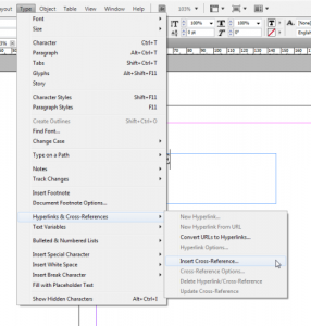 3 - Cross-referencing in InDesign