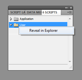 Installing Scripts in InDesign