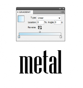 2 - Chroming Text in InDesign
