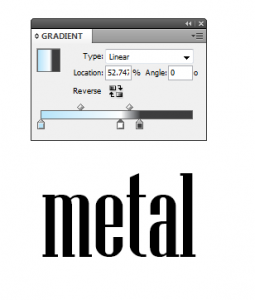 3 - Chroming Text in InDesign