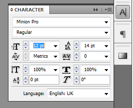 2 - Easy InDesign Panel Navigation